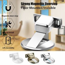 Home Invisible Anti-Collision Door Stopper Magnetic Doorstop Holder Stop Catch $10.97