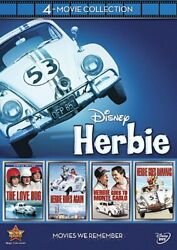 HERBIE THE LOVE BUG 4-MOVIE COLLECTION New 4 DVD All 4 Original Films