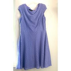 purple dress size 16 $8.50