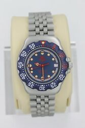Tag Heuer 370.513 WA1210.BA0494 Professional Watch Womens Mens MIDSIZE BLUE RED