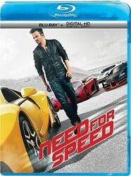 NEED FOR SPEED New Sealed Blu-ray $18.18