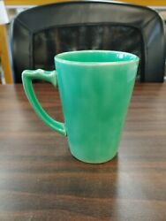 HOMER LAUGHLIN ORIGINAL GREEN HANDLED RIVIERA TUMBLER $69.99