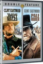 THE OUTLAW JOSEY WALES PALE RIDER New Sealed 2 DVD Double Feature Clint Eastwood $8.61