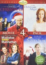 HALLMARK HOLIDAY COLLECTION VOLUME 2 New DVD Cancel Christmas Magic Santa Suit $10.91