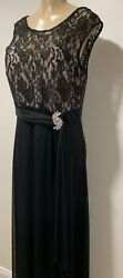 New women fashion sexy elegant plus size black beige long maxi dress Xxl $24.99