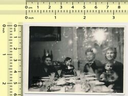 001 Party Film Error Double Exposure Hidden Face Ghost Abstract old photo orig. $15.00