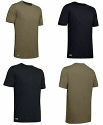 Under Armour 1351776 Men#x27;s UA Tactical Cotton Tee Short Sleeve T Shirt $19.99