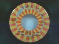 TOMMY JAMES quot;CRYSTAL BLUE PERSUASION I#x27;M ALIVEquot; 45 $2.75