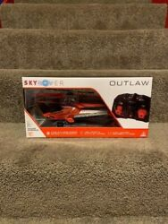 Sky Rover Outlaw RC Helicopter Indoor Remote Control with Gyro amp; Lights Red $29.75