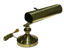 Brass Bankers Lamp Adjustable Arm and Top for Tabletop Desk Student Study  $39.99
