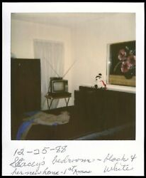 Bedroom with Antenna TV on a Stand Vintage 1988 Polaroid $14.99