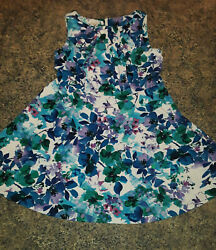 Signature Darby Dress Barn Floral Multicolor Dress career party Plus Size 18W $14.99
