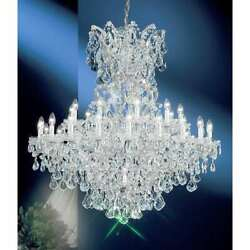 Classic Lighting Maria Theresa Crystal Traditional Chandelier Chrome - 8163CHS $19,494.00