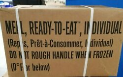 US Military MRE Meal Ready to Eat *12 Meals* 2021 Inspection Choose Case A or B $99.00