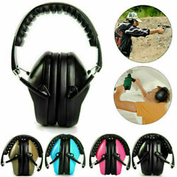 Radio Noise Cancelling Electronic Ear Muffs Adjustable Hearing Protection Safety $19.73