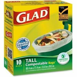 Glad Compostable Bags 78163 C $16.61