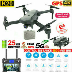 Drone With 5G WIFI FPV 4K HD ECS Camera Brushless RC Double GPS Drone Quadcopter $128.99