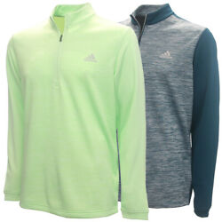 Adidas Golf Men#x27;s Adi Core 1 4 Zip Lightweight Pullover Brand New $23.39
