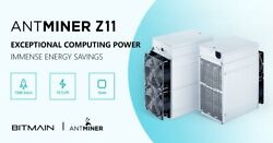 Bitmain Antminer Z11 135ksols ASIC Zcash Equihash 100% FREE shipping to USA.