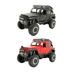 132 Jeep Vehicle Car-styling SUV Car Metal Auto Model Gifts for Kids Toys $18.46