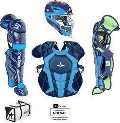 DEMO All-Star CKCC912S7XTT System 7 Axis Elite Catchers Set Youth Navy/Car Blue $299.95