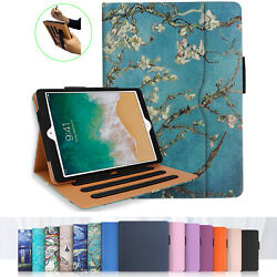 For iPad 10.2 7th Gen 2019 Case Multi-Angle Stand Cover wPocket Pencil Holder $17.49