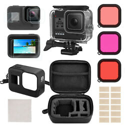 Accessories Kit for GoPro Hero 8 Black Protective Underwater Dive Housing Shell $24.99