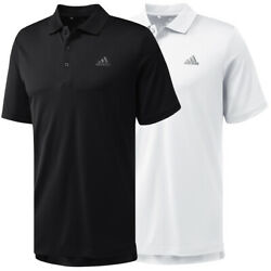 Adidas Golf Mens Performance Solid Polo Shirt  Brand New $18.99