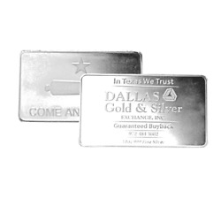 10 oz DGSE 0.999 Silver Bar - Cannon Symbol Stamped $330.72