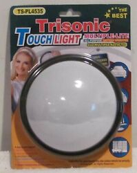 MULTI PURPOSE BATTERY OPERATED PUSH LIGHT LAMP Large size 5quot; Round Circular $9.99