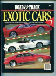 ROAD & TRACK EXOTIC CARS:7 CELEBRATING WORLDS MOST EXCITING DREAM CARS $15.99
