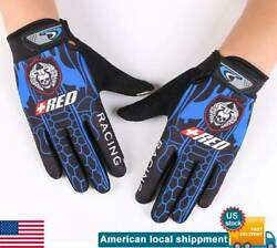 Cycling Full Finger Touch Gloves Mens Bicycle Sporting Outdoors Motobike Biker $7.44