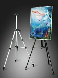 Painting Easels 66 inch Art Tripod Stand for Painting Adjustable Floor Easels  $17.95