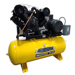 EMAX Industrial Plus 25-HP 120-Gallon Two-Stage Air Compressor (460V 3-Phase) $5,699.00