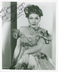 EVELYN BRENT - INSCRIBED PHOTOGRAPH SIGNED