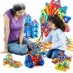 Educational Gift Set For Toys Street Magnetic Construction New Kids Blocks Toy#x27;s $50.00