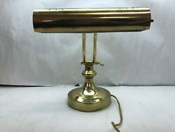 Antique Classic BRASS BANKERS Desk LAMP $35.99