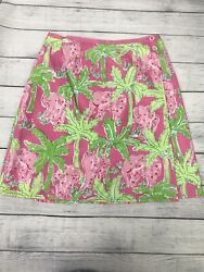 Lilly Pulitzer Reversible Wrap Around Skirt Size 0 $28.00