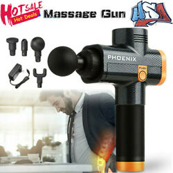 Fascia Gun Message Gun Muscle Relaxing Massager Deep Vibration Therapy Massage $77.77