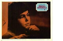 Small Miracle 1966 Re Release Lobby Card Never Take No For An Answer $5.00