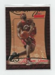 2004-05 Fleer Throwbacks #23 Lebron James Cavaliers 2nd Year