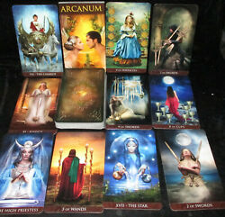 SEALED NEW ARCANUM TAROT DECK ORACLE CONNECT WITH DEEP PARTS OF THE SOUL $26.95