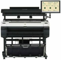 Canon imagePROGRAF iPF760 5-Color 36 Color Wide-Format Printer Scanner $3,500.00