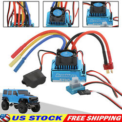 120A Brushless ESC Electric Speed Controller Accessories for 1/8 1/10 RC Car $18.97