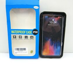 NEW IP68 360 Full Protect Waterproof Case Shockproof Dirtproof For iPhone XS MAX $10.99