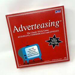Adverteasing The Game Of Slogans Commercials & Jingles Board Game $17.95