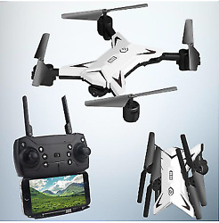 Remote Control Headless Foldable RC Quadcopter with 5MP 1080P Camera WiFi Drone $94.95