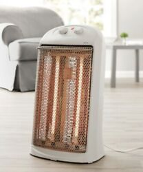 Quartz Electric Tower Space Heater Indoor White or Black 2 Heat settings $74.25