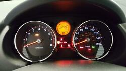 NISSAN ROGUE Speedometer (cluster) MPH (US market) wo drive computer displa