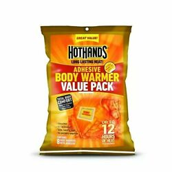 HotHands Adhesive Body Warmer by HotHands Value Pack - 8 Pairs EXP 0323 $12.00
